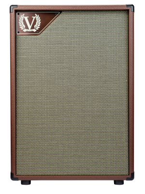 """Victory V212VB 2X12"""" Guitar Speaker Cabinet - Matches The Copper"""