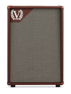 "Victory V212VB Deluxe, Celestion Gold 2X12"" Guitar Speaker Cabinet - Suits The Copper Deluxe"