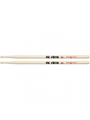 Vic Firth American Classic Hickory Drumsticks - 7A Wood Tip