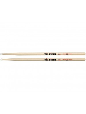 Vic Firth American Classic Hickory Drumsticks - 8D Nylon Tip