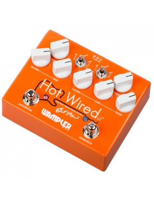 Wampler Hot Wired V2 Overdrive Guitar Effects Pedal
