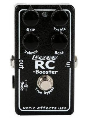 Xotic Bass RC Booster Effects Pedal