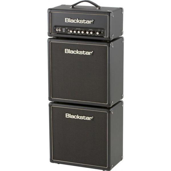 Blackstar HT-5 Series HT-5H and HT-110 Mini Full Stack with reverb
