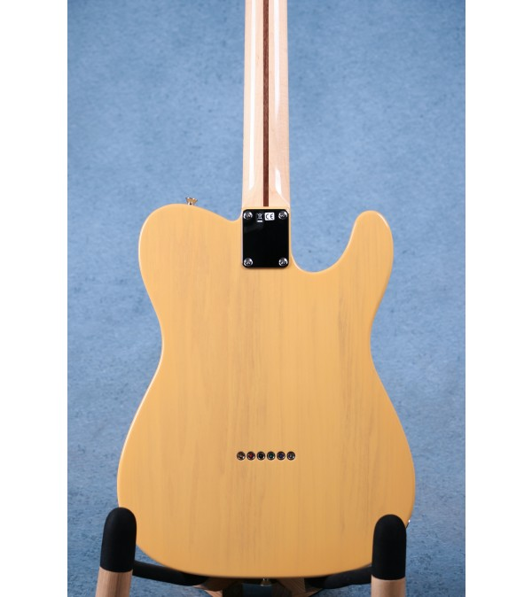 Fender Made In Japan Traditional 50s Telecaster Left Handed Butterscotch Blonde Electric Guitar - JD21005955
