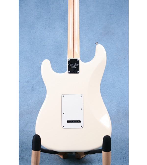 Fender American Standard Stratocaster 2011 Olympic White Rosewood Electric Guitar - Preowned