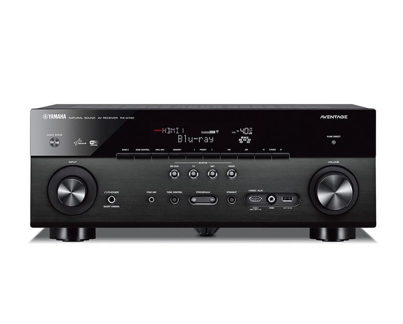 Yamaha aventage rx a740 av receiver for Yamaha receiver accessories