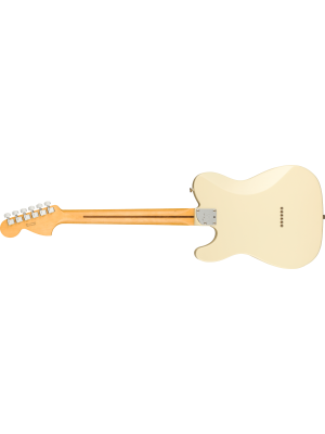 Fender American Professional II Telecaster Deluxe Olympic White Maple Electric Guitar