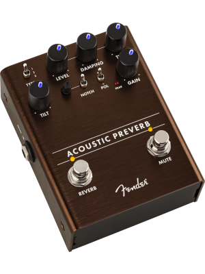 Fender Acoustic Preverb Acoustic Guitar Preamp/Reverb Effects Pedal