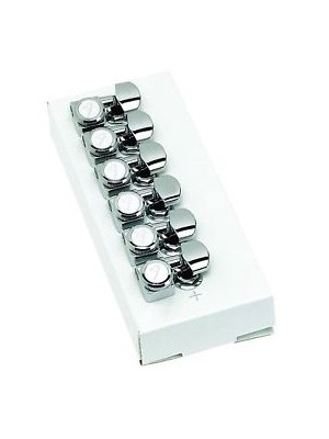 Fender Fender Locking Tuners with Vintage-Style Buttons - Chrome