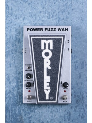 Morley Cliff Burton Tribute Series Power Fuzz Wah Effects Pedal - Preowned