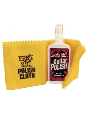 Ernie Ball 4222 Guitar Polish with Cloth