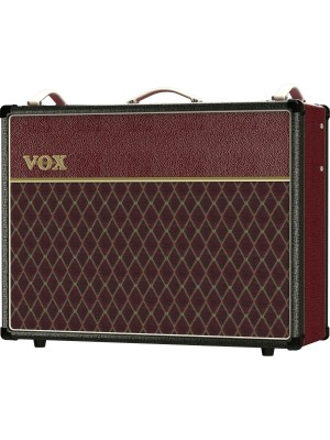Vox AC30C2-TTBM - All Tube Limited Edition, Two-Tone Black/Maroon