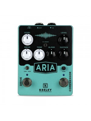 Keeley Aria Compressor Drive Guitar Effect Pedal