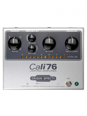 """Origin Effects Cali76-TX """"FET"""" Based Studio Style Limiting Amplifier Effects Pedal"""