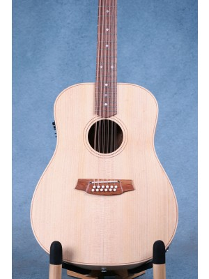 Cole Clark Fat Lady 2 12 String FL2E-12-BB Acoustic Electric Guitar - 180935880