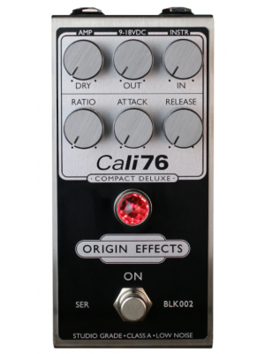 Origin Effects Cali76 Compact Deluxe Compressor Effects Pedal - Inverted Black