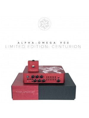 "Darkglass Alpha Omega 900 - ""CENTURION,"" Red, Limited Edition 2019"