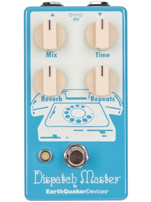 EQD Dispatch Master Digital Delay and Reverb V3 - Inverted Colour, Limited Edition 2019