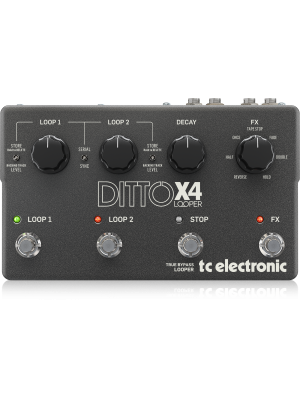 TC Electronic Ditto X4 Looper Guitar Effects Pedal