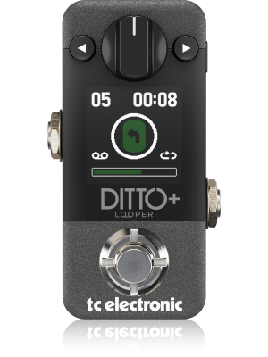 TC Electronic Ditto+ Looper Effects Pedal