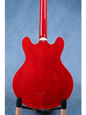 Eastman T486B Semi Hollow Body Red Electric Guitar w/ Bigsby - 15950630
