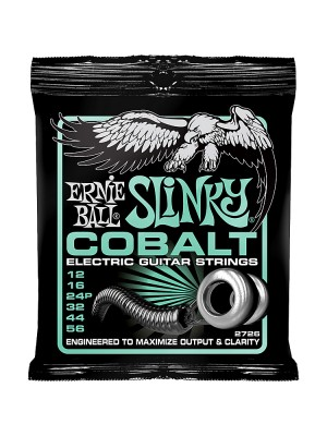 Ernie Ball 2726 Cobalt Not Even Slinky (12-56) Nickel Electric Guitar Strings