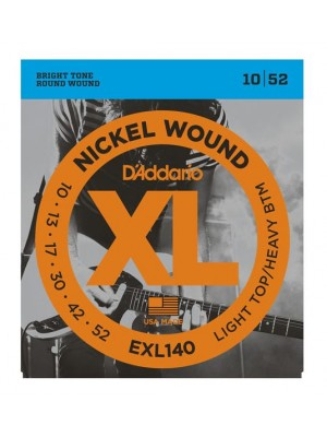D'Addario EXL140 Nickel Light Top / Heavy Bottom Electric Guitar Strings