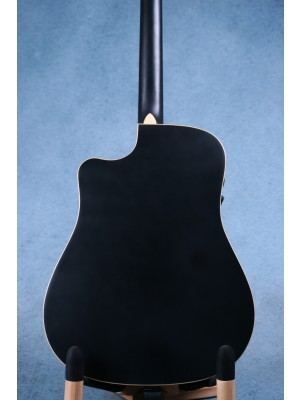 Fender Redondo Special Matte Black Acoustic Electric Guitar (B-STOCK) - CGFA182065B