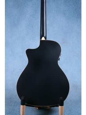 Fender Newporter Special Matte Black Acoustic Electric Guitar (B-STOCK) - CGFA182134AB