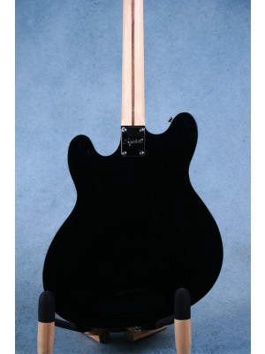 Squier Affinity Series Starcaster Black Hollowbody Electric Guitar (B-STOCK) - ISS2010101B