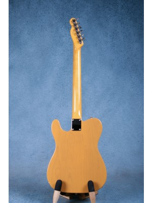 Fender FSR MIJ Traditional 60s Telecaster w/ Bigsby Butterscotch Blonde Electric Guitar - JD18009388