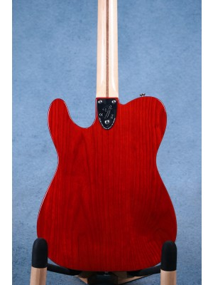 Fender 20149 Limited Edition '72 Telecaster Custom Sunset Orange Transparent Electric Guitar (B-STOCK) - MX1817665