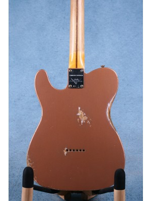 Fender Custom Shop Limited Edition Double Esquire Aged Copper Electric Guitar - R105649