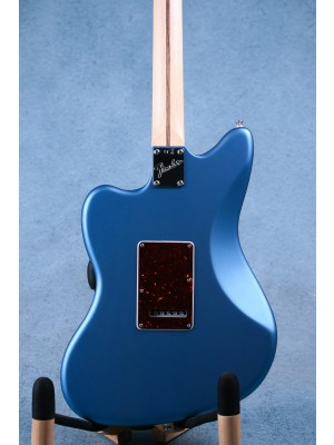 Fender American Performer Jazzmaster Satin Lake Placid Blue Electric Guitar (B-STOCK) - US18090599AB