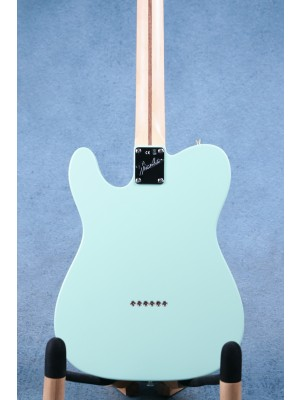 Fender American Performer Telecaster Humbucker Satin Surf Green Electric Guitar - US20039663