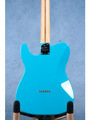 Fender American Professional II Telecaster Deluxe Miami Blue Electric Guitar