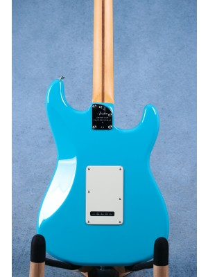 Fender American Professional II Stratocaster Left-Hand Miami Blue Electric Guitar - US20067194