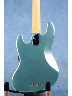 Fender American Professional II Jazz Bass V Mystic Surf Green Electric Bass Guitar - US20074812