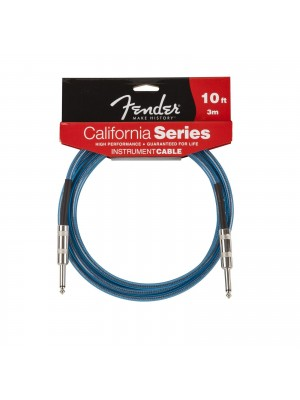 Fender: California Series Instrument Cable (15 Foot) - Lake Placid Blue