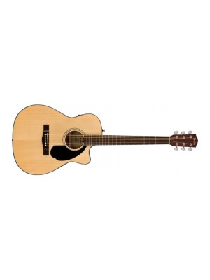 Fender CC-60SCE Concert Acoustic Guitar - Natural, Walnut Fingerboard