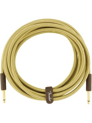 Fender Deluxe Series Instrument Cable Straight/Straight 10' Tweed