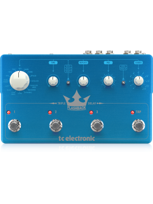 TC Electronic Flasback Triple Delay Guitar Effects Pedal