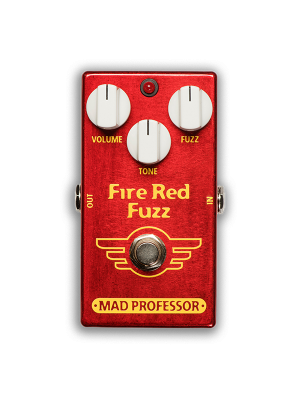 Mad Professor Fire Red Fuzz Guitar Effects Pedal