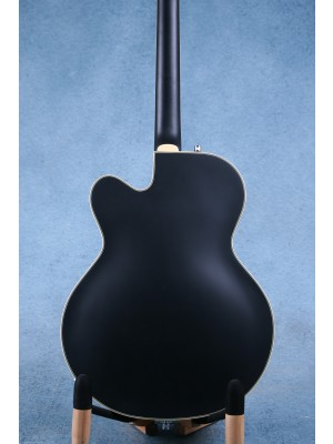 "Gretsch G5410T Electromatic ""Rat-Rod"" Black Hollow Body Electric Guitar - KS20063295"