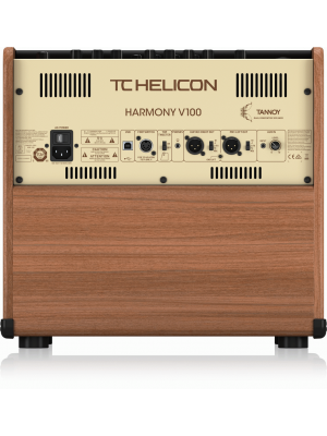 TC Helicon Harmony V100 Acoustic Guitar Amplifier 100w