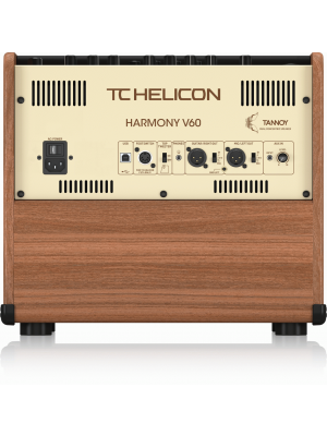 TC Helicon Harmony V60 Acoustic Guitar Amplifier 60w