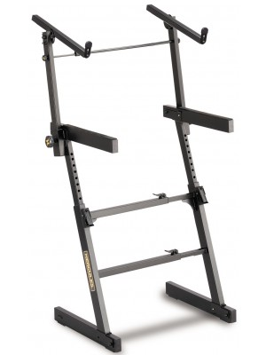 Hercules KS410B Auto-Lok Two Tier Keyboard Stand