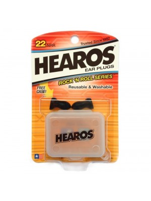 Hearos HS309 Rock N Roll Reuseable Ear Plugs