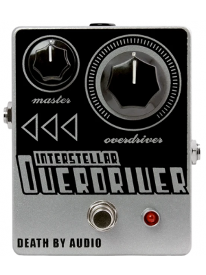Death By Audio Interstellar Overdriver Guitar Effects Pedal