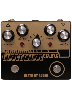 Death By Audio Interstellar Overdriver Deluxe Guitar Effects Pedal